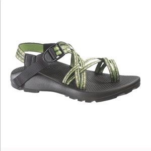Chaco ZX Colorado Unweep Sandals Strappy Green